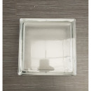Glazen blok 19x19x8cm
