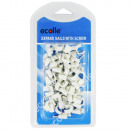 Ecolle kunststof spijker clips 8mm 50 st.