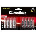 Camelion plus Alkaline LR6 / AA / BP8 (4 + 4)