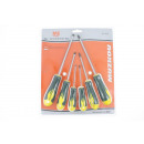 Screwdriver set 6 pcs.
