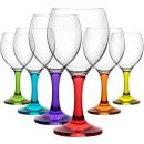 LAV 6 piece glasses set glasses glasses of juice g