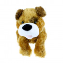 Plush toy with smile function and sensor