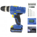 wholesale Computers & Accessories: Cordless drill 12V with Li-ion battery