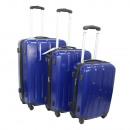 Ecolle poggyászkészlet 3 db Kék