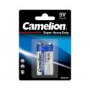 Camelion 6F22 / bloc 9 volts / bleu / BP1