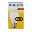 Philiips Glühlampe/40W/E27/matt/Birnenform