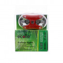 9 LED tail light including mounting material