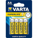 Batterij Varta Superlife Mignon R6 AA 4er / BP4