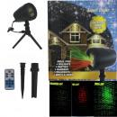 Ecolle laserprojector met afstandsbediening