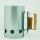 CAMPAIR carbon starter van staal, 17 x 27,5 cm