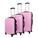 Ecolle bagageset 3-delig roze