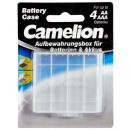 Camelion Boîte de rangement pour 4x Mignon AA / Mi