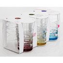 wholesale Drinking Glasses: LAV juice glass 6er 350cc colored