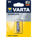 Varta Superlife 9V batterij
