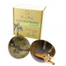 Bee's Bites 2-pakowa miska na płatki kokosowe