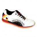 Großhandel Geschenkartikel & Papeterie: Deutschland Fan Sneaker - Nappaleder