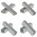 wholesale Ironmongery: Stapling set 40,000 pieces of staples from 16 to 4