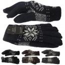 Gebreide handschoenen Norwegian Winter Finger Flee