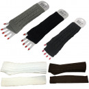 wholesale Shoes: Arm sleeve gloves knit Uni cuddly long
