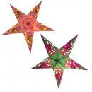 Poinsettia 60 cm papierowa świąteczna dekoracja św