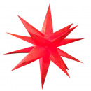 Karácsonyi csillag 60 cm-es 3D-s papír csillag kar