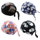 wholesale Skirts: Bandana Rocker Cloth Beanie Unisex Skull USA Ham