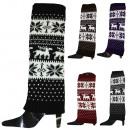 Großhandel Strümpfe & Socken: 1 Paar Beinstulpen Norweger Muster Überzieher