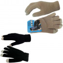 Knitted gloves smartphone touch Handy finger