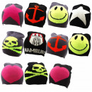 Knitted hat anchor star heart Smiley Hamburg