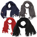 Scarf Fleece Bags Fringes Winter