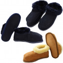 Children's hut slipper sheepskin sheepskin lea