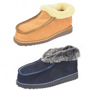 wholesale Shoe Accessories: Cabin slipper sheepskin lambskin Fixed sole