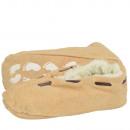 Dziecięce pantofle ze skóry naturalnej Babucha ABS