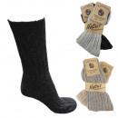 2 pairs cashmere socks