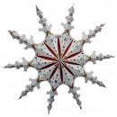 Gwiazdka świąteczna 80cm papierowa gwiazda Dekorac