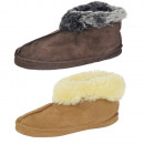 wholesale Shoe Accessories: Cabin slipper sheepskin lambskin Genuine leather