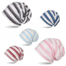 Kinder Beanie Vintage Streifen Mütze Maritim
