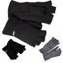 Rękawiczki polarowe pół palca S-XL Zimowe ciepłe