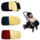 wholesale Child and Baby Equipment: Baby footmuff Sweet Dreams Lambskin coton