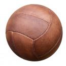 Ballon de football Vintage . Style des années 30