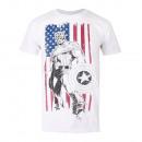Marvel-Marvel T-Shirt CAPTAIN FLAGGE