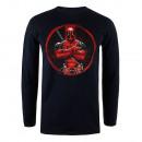 Marvel -Camiseta manga larga Marvel DEADPOOL