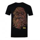 Star Wars Star Wars T-Shirt CHEWIE BRILLEN
