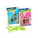 groothandel Tuinmeubelen: Kindertuinset - 3 stuks - 3 kleuren