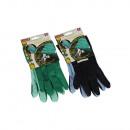 wholesale Gloves: Garden glove - 2 parts - size 10