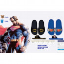 Sandali da spiaggia per bambini Batman e Superman