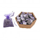 Small lavender bags in cellophane