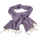 wholesale Scarves & Shawls: Pashmina scarf herringbone - purple