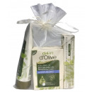 Dalan d'Olive 3er Geschenkset im Organza weiß