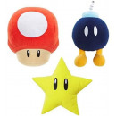 NINTENDO-SORTIMENT VON 6 SOUND PLUSH